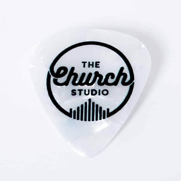 Guitar Pick, Classic Logo