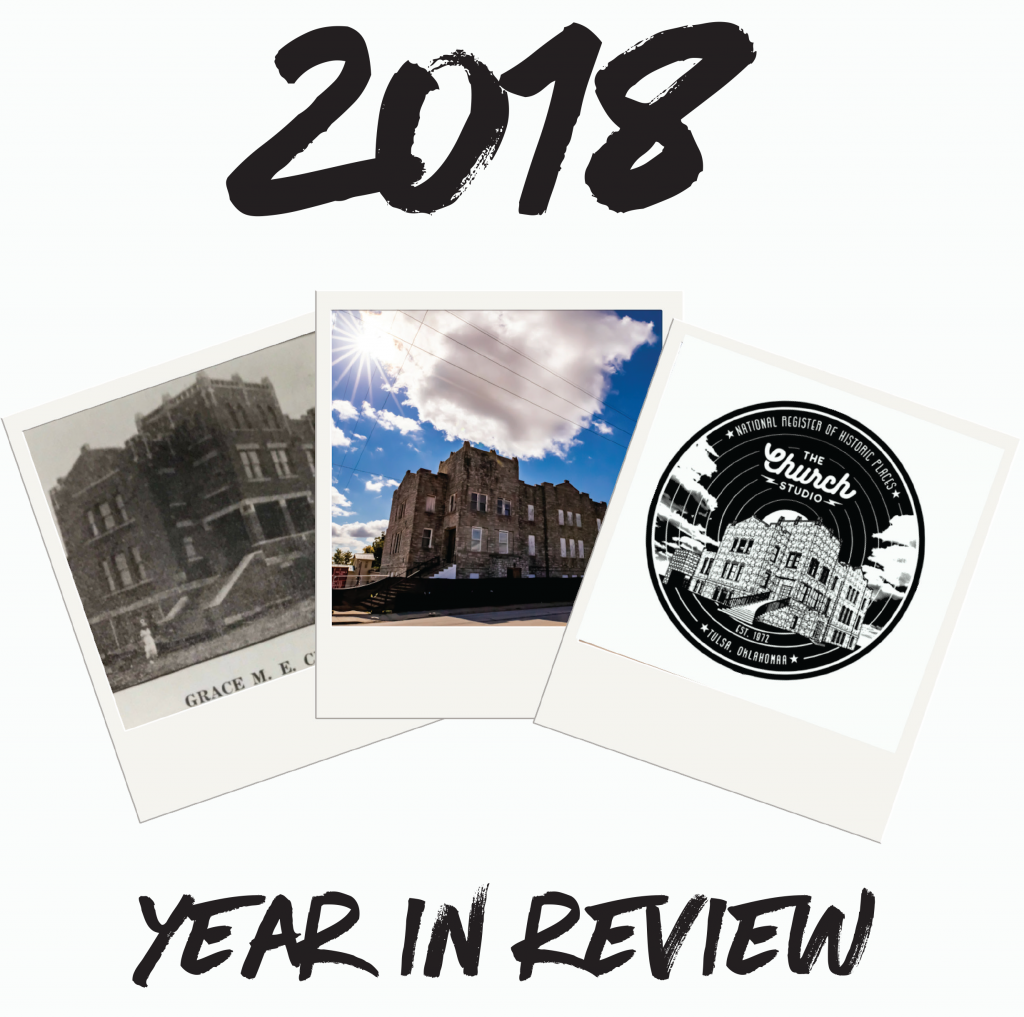 The Church Studio - 2018 Year In Review - January Newsletter-1