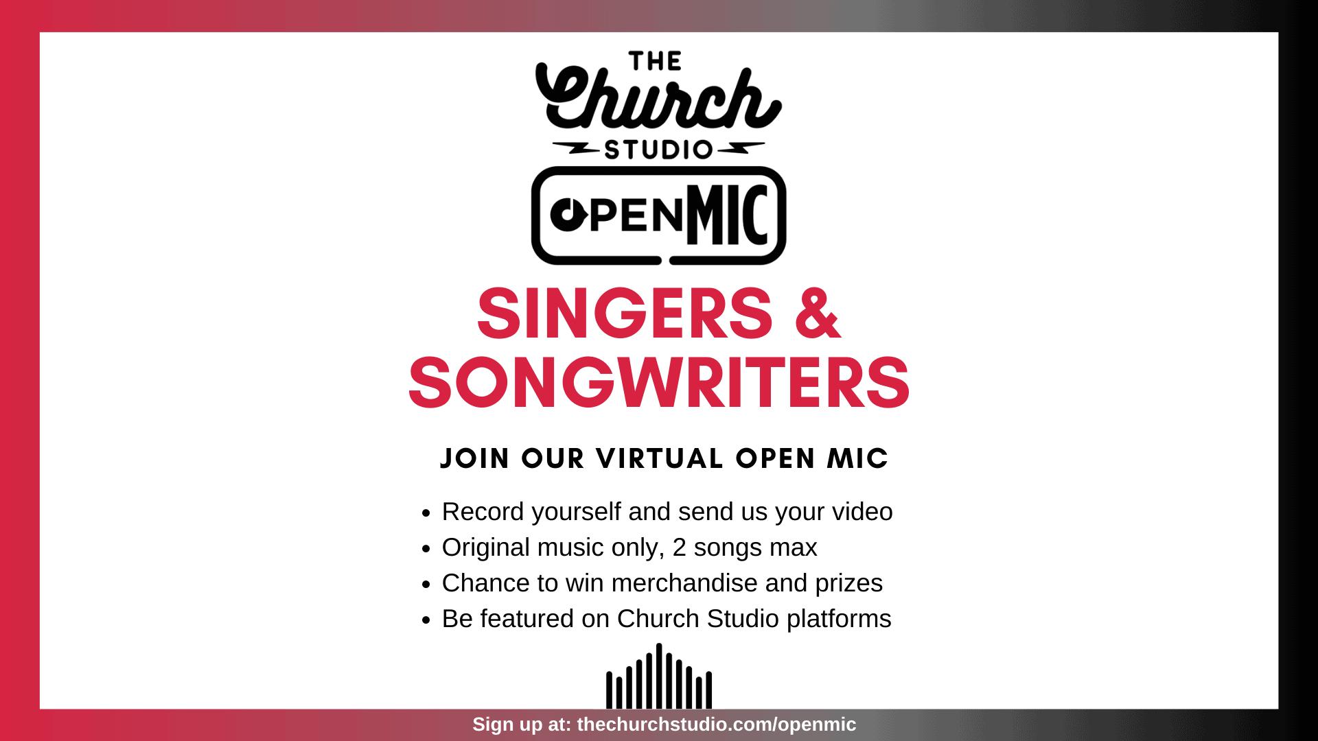 Copy of online open mic