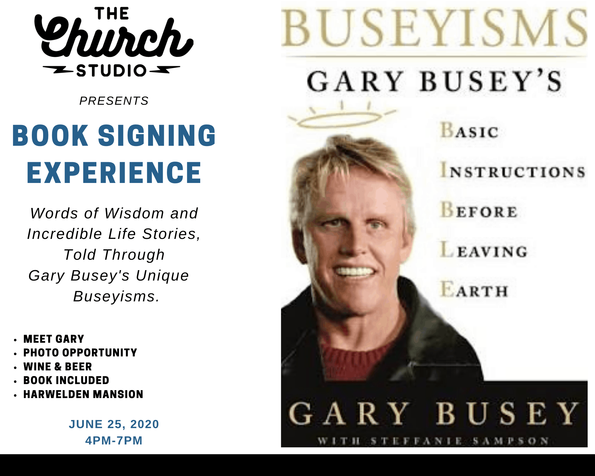 Gary Book Signing